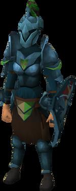 Rune heraldic armour set 4 (sk) equipped