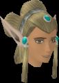 Elf-style wig (green, female) chathead