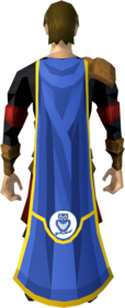 Herald cape (Lumbridge) equipped