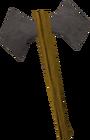 Iron battleaxe old
