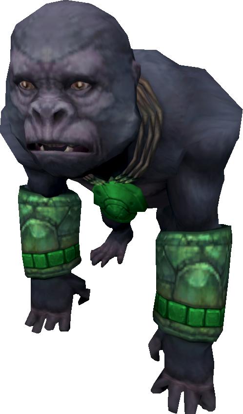 File:Jungle Gorilla (adolescent).png