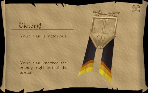 Clan Wars Victory