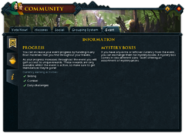 Community (Breaking the Storm) interface 3