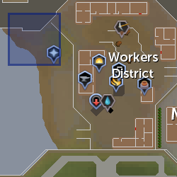 Corrupted egg spawn (Worker district) location