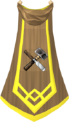 Crafting master cape detail