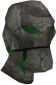 Emerald golem head chathead