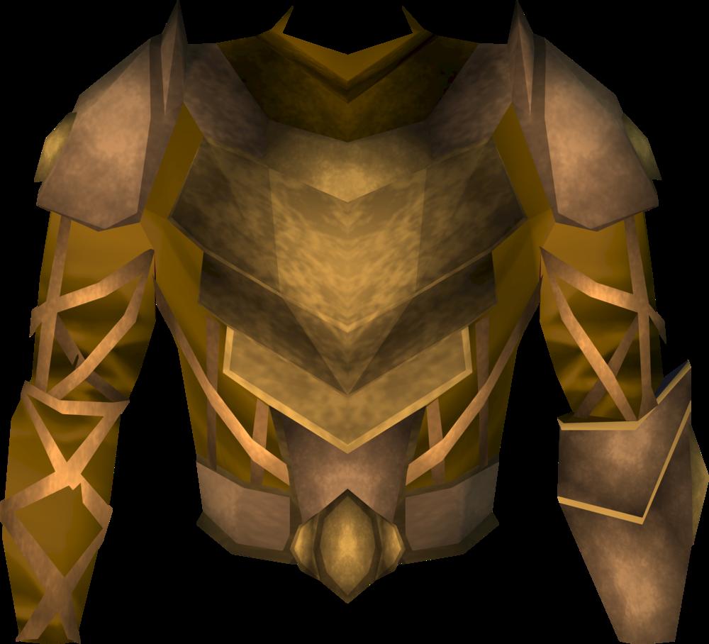 Golden Warpriest Of Armadyl Armour Runescape Wiki Fandom Powered