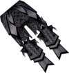 Malevolent greaves (Third Age) detail