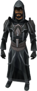 Robes of Sorrow outfit equipped (male)