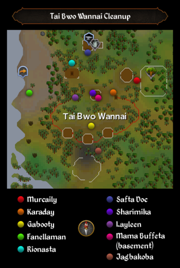 Tai Bwo Wannai Cleanup map