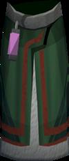Trickster robe legs detail