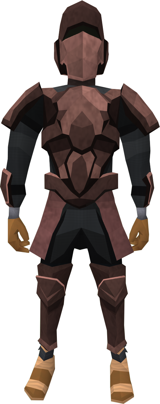 Basic decorative armour (male) equipped