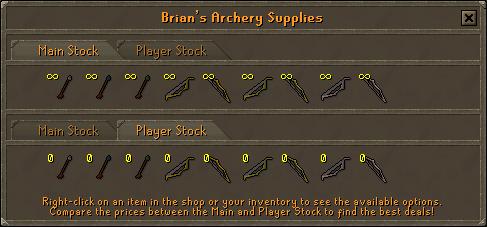 Brian Archery Supplies