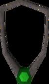 Crystal pendant detail