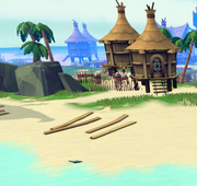Message in a bottle (The Goon Docks) in-game