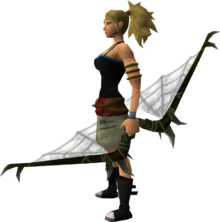 Noxious longbow (barrows) equipped