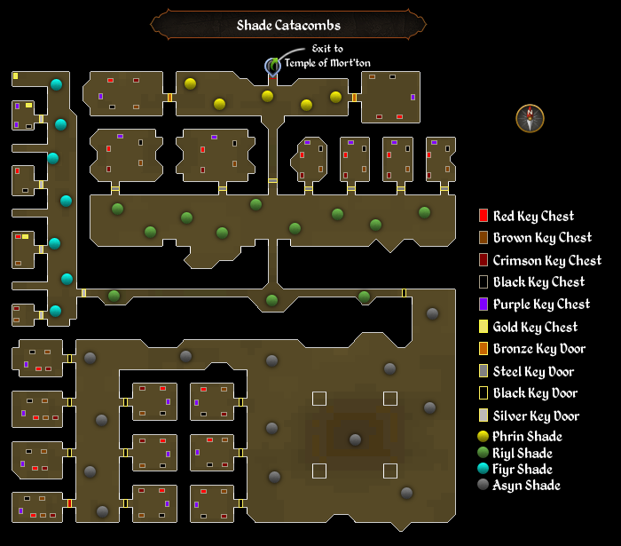 Image - Shade Catacombs map.png | RuneScape Wiki | FANDOM powered by ...