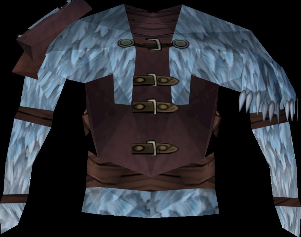 Shaman's poncho detail
