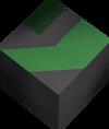 Square stone (green) detail