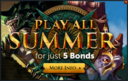 Summer Special 2015 for bonds popup