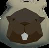 Beaver pouch detail