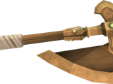 Bronze battleaxe
