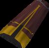 Dervish skirt (sepia) detail