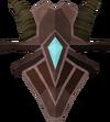Escudo de Promécio detalhe