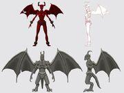 Gargoyle concept art