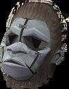 Gorilla mask detail