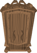 Mahogany armour case built