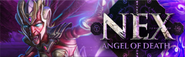 Nex Angel of Death lobby banner