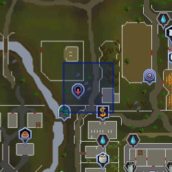 North Ardougne Teleport location