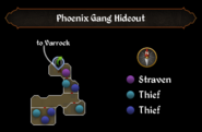 Phoenix Gang Hideout map