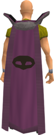 Retro thieving cape equipped
