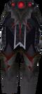 Royal dragonhide chaps detail