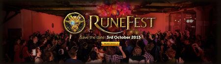 RuneFest head banner