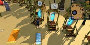 Sandy Clue Scroll Menaphos Portal