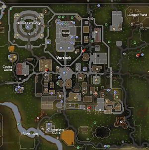 Varrock mapa