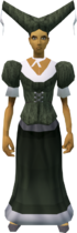Audience costume (female, green) equipped