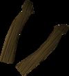 Bronze limbs detail