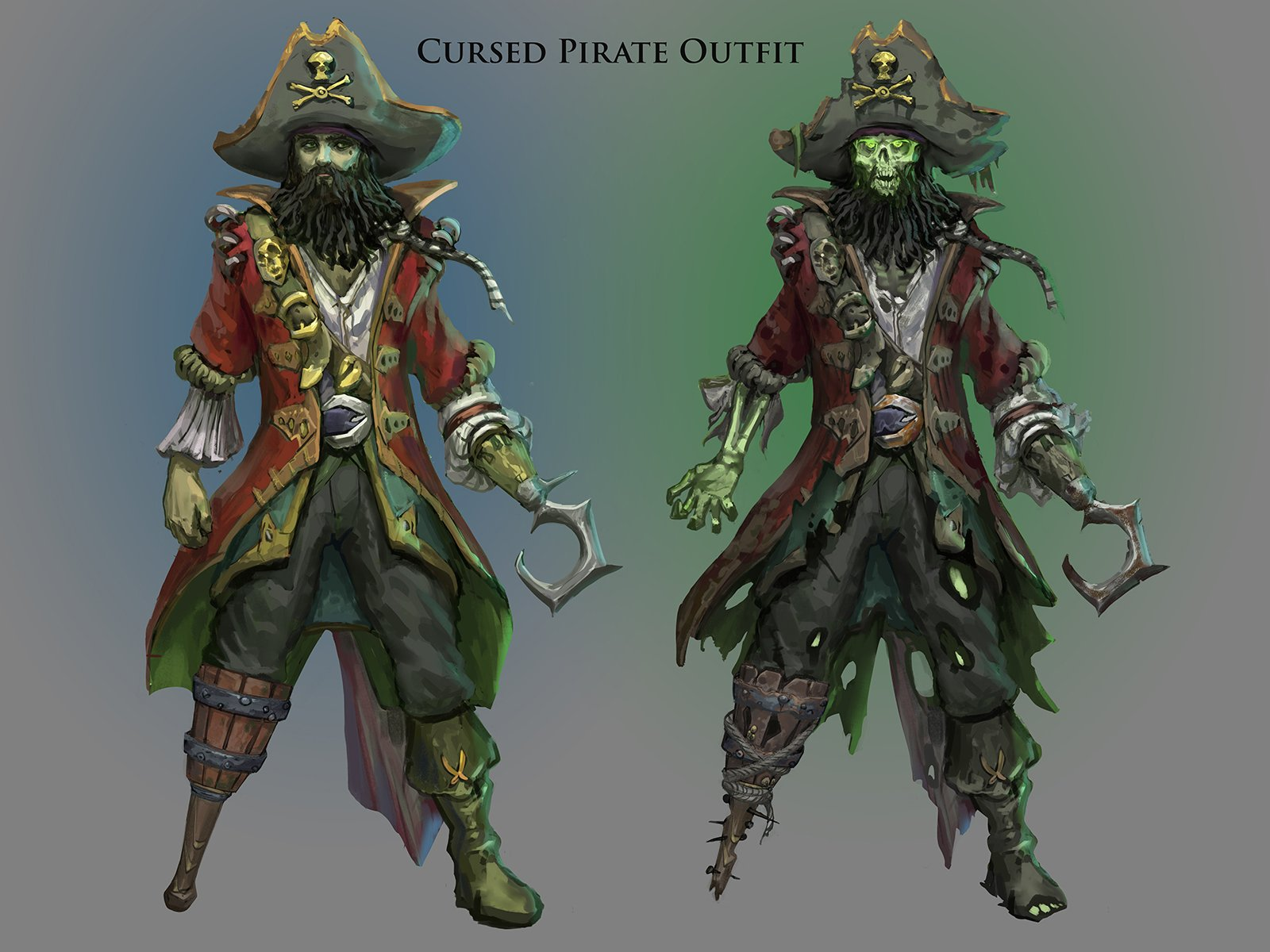 Drowings Imags: Captain Deathbeard's Outfit