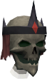 Skeletal wizard chathead