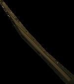 Teasing stick detail