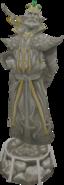 Baxtorian statue