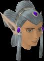 Elf-style wig (blue, female) chathead