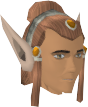Elf-style wig (red, male) chathead