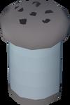 Empty spice shaker detail