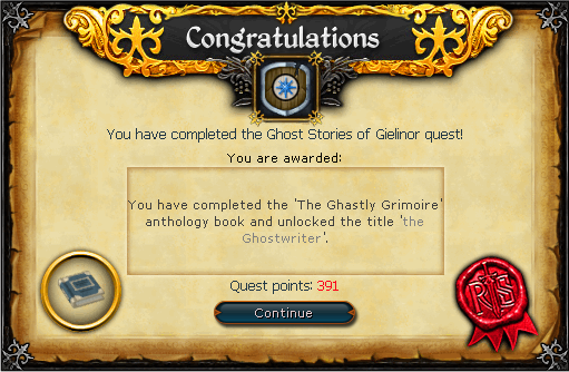 Ghost Stories of Gielinor rewards (2)