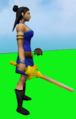 Golden chaotic longsword equipped.png